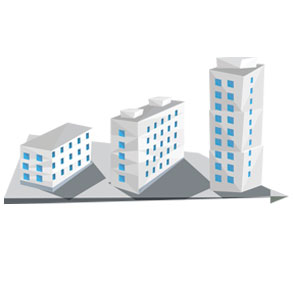 Tiered Buildings
